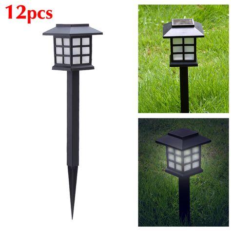 Led Solar Light Garden Post