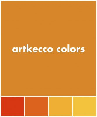 Tequila Sunrise Color Swatches And Palettes Artkecco Sunrise Colors Color Swatches Tequila Sunrise