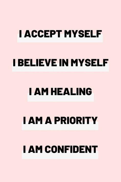 30 Self love affirmations - Louise Grace Blogs
