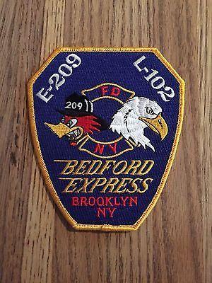 New York City NY Fire Dept Engine 204 Patch v4   Disbanded