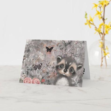 Woodland Animals Birthday Cards | Zazzle