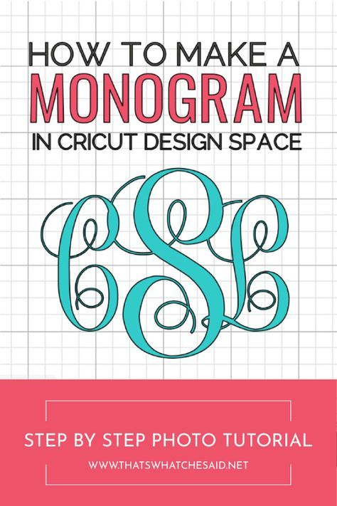 Create 3 letter monograms easily with this photo step by step tutorial on how to make a monogram using Cricut Design Space! Create 3 letter monograms easily with this photo step by step tutorial on how to make a monogram using Cricut Design Space! Monogram Maker, Free Monogram, Monogram Design, Monogram Letters, Cricut Monogram Font, How To Monogram, Free Printable Monogram, Wood Letters, Monogram Car Decals