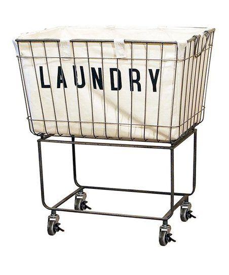 Rolling Metal Laundry Basket Zulily Metal Laundry Basket