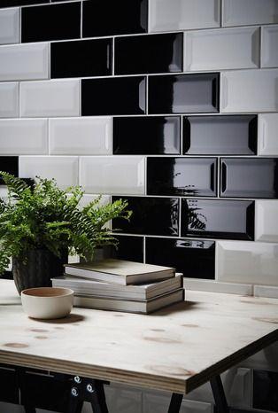 Carreau De Faience Trentie Blanc 10 X 20 Cm Brico Depot Decoration Mur Interieur Faience Cuisine Decoration Cuisine
