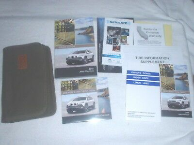 Owners Manual Jeep Grand Cherokee 2015