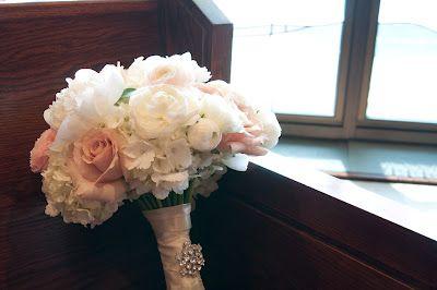 Peonies, roses and hydrangeas