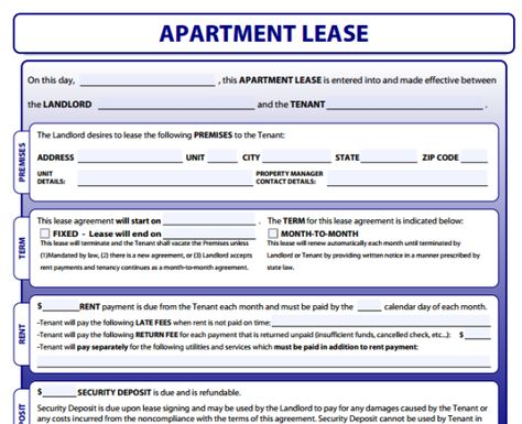 apartment leases - Yahoo Search Results Yahoo Image Search Results - master lease agreement