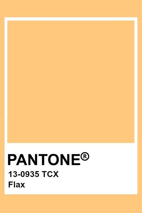 Pantone Flax
