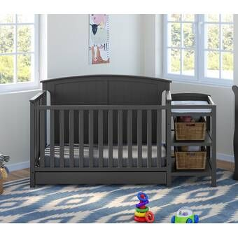Florence 4 In 1 Convertible Crib And