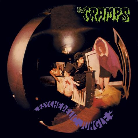 'Psychedelic Jungle' is just one of a few The Cramps titles from a recent visit to Grimey's in Nashville.