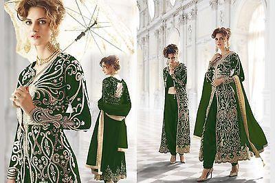 Индийское болливуда шаровары индийские пакистанский дизайнер этническое платье костюм 119