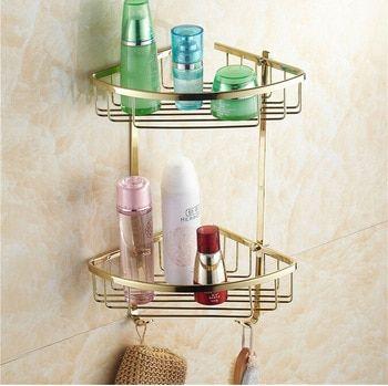 44++ Brass bathroom storage best