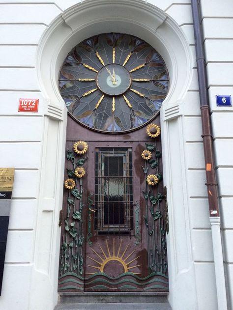 Praha = Best door city in the world!