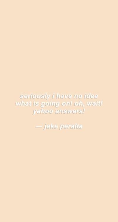 Jake Peralta Funny Lock Screen Brooklyn Nine Nine Funny