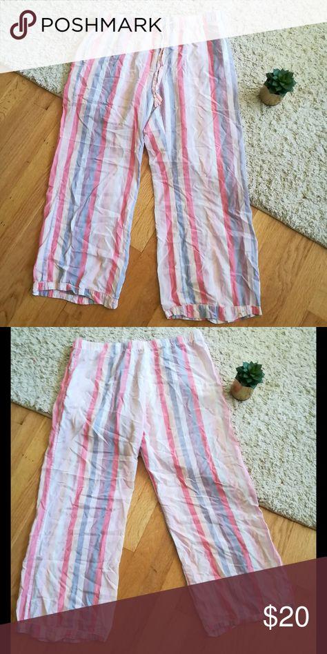 Size L//Large NEW Womens Gilligan /& O/'Malley Patterned Pajama Sleep Shorts