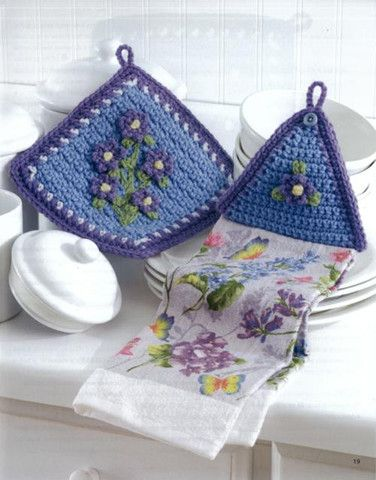 Picture of Towel Toppers and Potholders