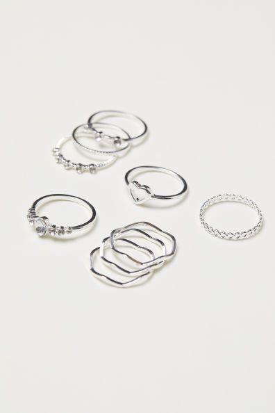 9-pack Rings