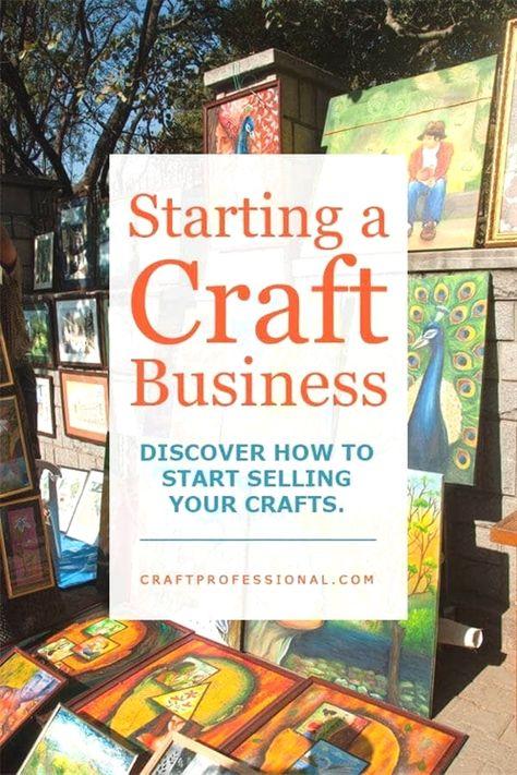 Starting a Craft Business