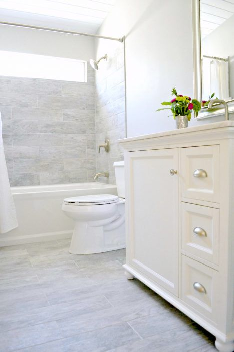 How I Renovated Our Bathroom On A Budget Bathrooms Remodel