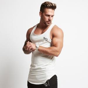 Wadonerful-men Summer Sports Fitness Muscle mesh Stitching Sleeveless Tank Blouse Fashion Singlet Slim fit Vest