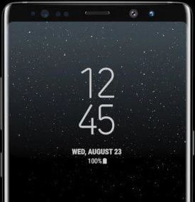 How To Change The Lock Screen Clock Style On Samsung Galaxy Note 8 Bestusefultips Lock Screen Clock Galaxy Note 8 Change Locks