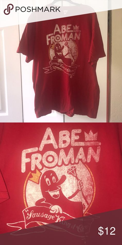 167ed131a9a Abe Froman T-shirt Red Abe Froman T-shirt from Ferris Buellers day off.  Great condition. Alstyle Shirts Tees - Short Sleeve