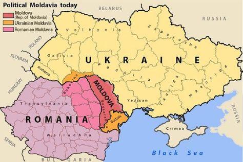 Moldavia Carte Histoire
