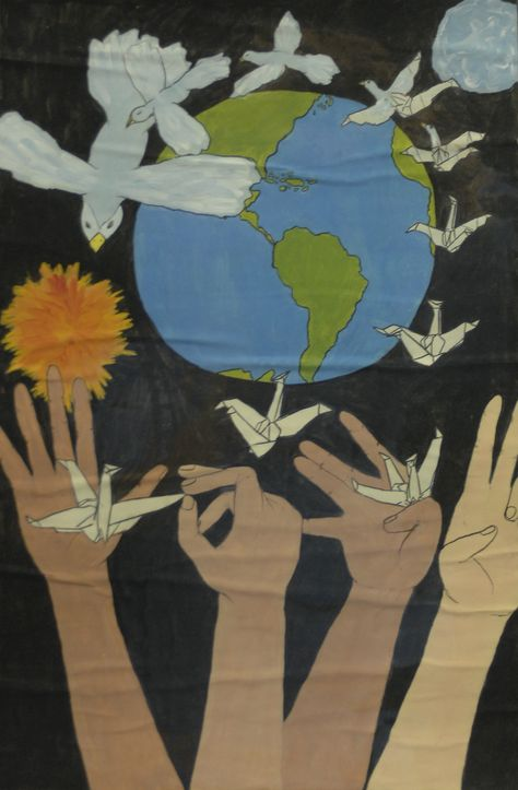 Finalist from USA: Lions Clubs International 2012-2013 Peace Poster Contest