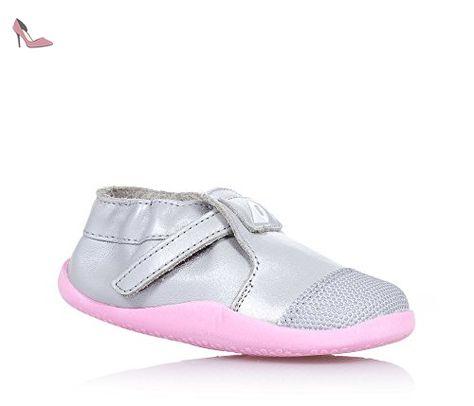 exclusive deals good texture discount BOBUX - Chaussure argentée en cuir et tissu, extrêmement ...
