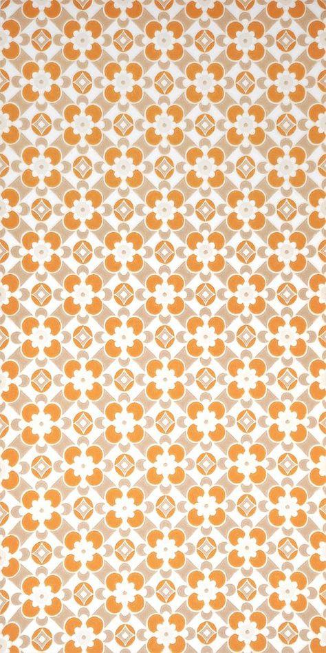60er Tapete 0511 Tapeten Geometrische Tapete Mustertapete