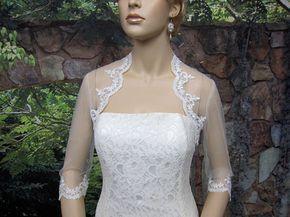 Brautbolero Spitzen Bolero Brautbolero Jacke Ivory Bolero Etsy Brautjacke Braut Bolero Spitze Hochzeit Bolero