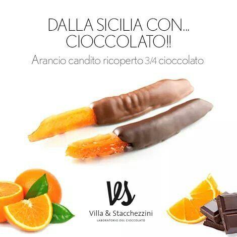 #arancio Siciliano candito artigianalmente, avvolto in una copertura di buonissimo #cioccolato. #weloveitaly #noconservanti #nooliodipalma  Scopri dove trovare le nostre dolcissime creazioni!  http://www.villaestacchezzini.it/index.php/it/partners Messaggiaci su Whatsapp al 3662517421