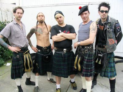 The Real Mckenzie S Celtic Punk Always Fun Irish Punk Men In Kilts Kilt