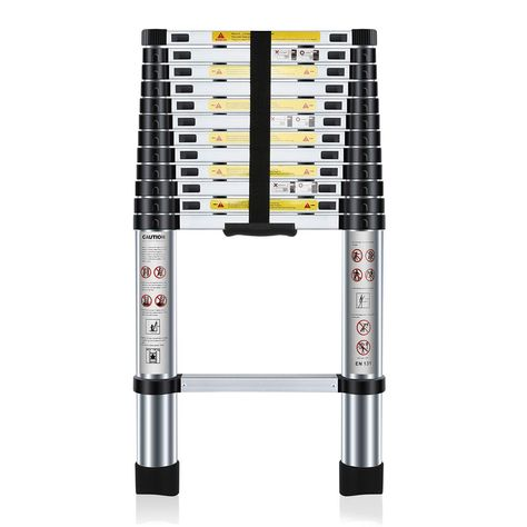 Klappleiter Ausziehleiter Mehrzweckleiter Maximale Belastbarkeit 150 Kg Bitte Schauen Sie Auf Unserer Website Http In 2020 Aluleiter Teleskopleiter Haushaltsleiter