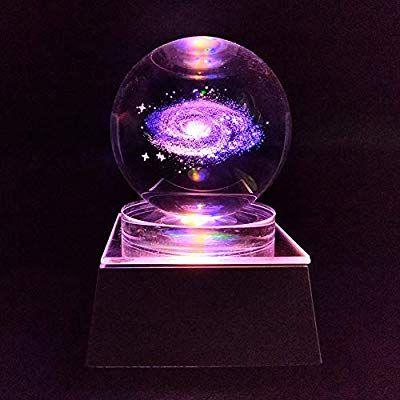 Amazon Com Jingdian Crystal Led Galaxy W Multicolor Lamp Light