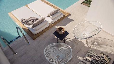 Stilvoll entspannen im stylischen Ambiente: das 5-Sterne-Hotel Casa Cook Rhodes auf Rhodos. #interiordesign #designhotel #stylish #rhodos #travel #meer #lastminute #sommer www.bucher-reisen.de