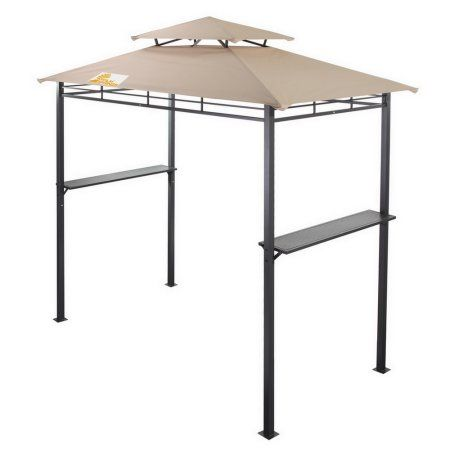 Palm Springs Deluxe 8ft Double Tier Barbecue Canopy Bbq Grill Tent Walmart Com Grill Gazebo Grill Canopy Gazebo Canopy