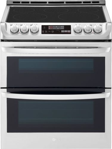 Lg 7 3 Cu Ft Self Clean Slide In Double Oven Electric Smart Wi