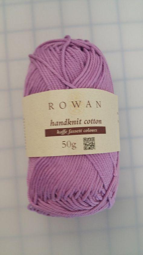 Purple Color 366 Rowan Handknit Cotton Yarn