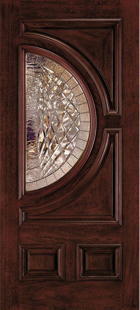 Aurora Custom Fiberglass Glass Panel Exterior Door Jeld Wen Doors Windows Door Glass Design Door Design Wood Wood Doors Interior