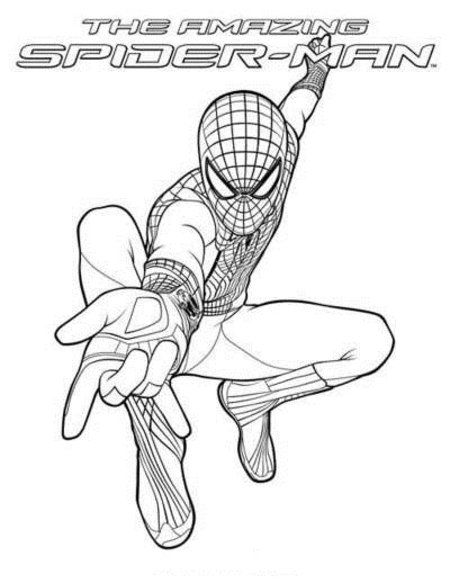 The Amazing New Spiderman Coloring Pages Disney Coloring Pages Tinkerbell Coloring Pages Spiderman Coloring Avengers Coloring Pages