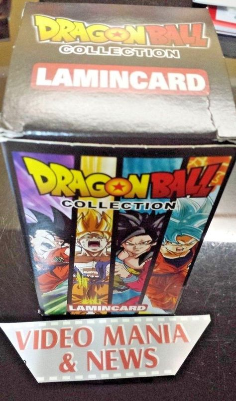 DRAGON BALL COLLECTION BOX 24 BUSTINE CARD  LAMINCARD. Z,GT,SUPER