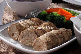 Just Try Taste Galantine Daging Sapi Ayam Dengan Sayuran Rebus Dan Kentang Goreng Resep Masakan Indonesia Daging Sapi Kentang Goreng