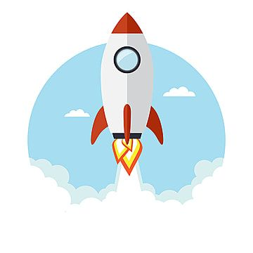 Rocket Flying In The Background Blue Building Png And Vector With Transparent Background For Free Download Rocket Flying Retro Rocket Business Cartoons