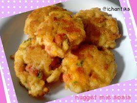 Resep Mpasi Nugget Mie Sosis 1y Cerita Mami Kenzie Makanan Balita Resep Makanan Bayi Makanan Dan Minuman