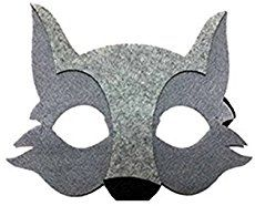 image relating to Wolf Mask Printable identify Free of charge Printable Wolf Mask Template Do it yourself for dolls and