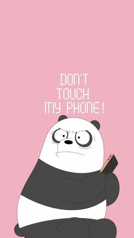 Pin By Anggiee 226 On Yang Saya Simpan In 2020 Funny Wallpapers Cute Panda Wallpaper Dont Touch My Phone Wallpapers