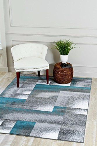 4961 Turquoise Moroccan Trellis 5 2 7 2 Area Rug Carpet Large New For Sale Contemporary Area Rugs Living Room Area Rugs Rugs In Living Room
