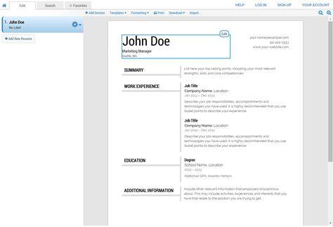 Super Resume Builder Review Coolresume Free Resume Builder