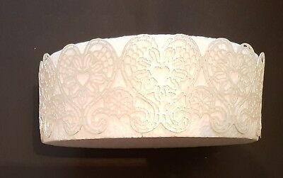 Edible Cake Lace Beautiful Hearts Border For Wedding Or Occasional Cakes Ebay In 2020 Cake Lace Edible Cake Edible Lace